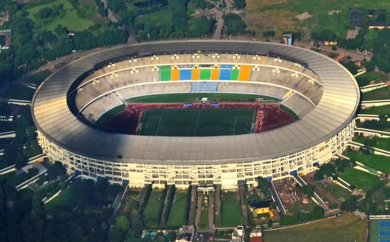 Estadio salt lake el gigantesco estadio indio - Construcciones benjoal ...