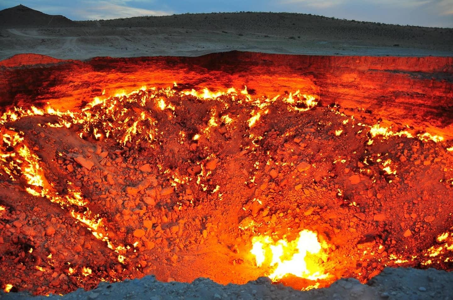 Derweze the Door to Hell & Derweze the Door to Hell | amazing.zone